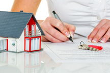 Conveyancing Signing Contract for House