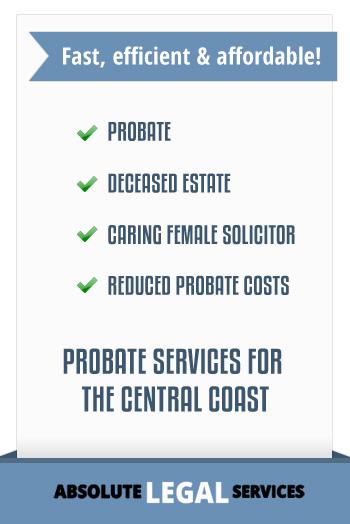 legal probate service
