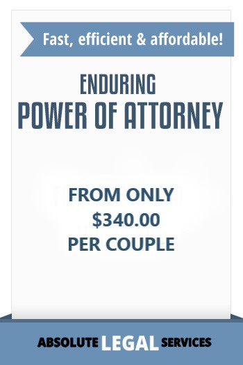 Enduring power of attorney NSW